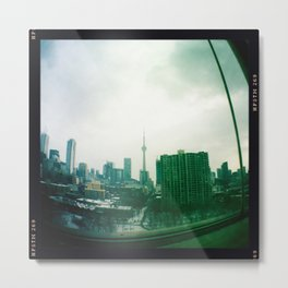 Toronto city view Metal Print