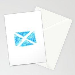 flag of scotland 6– scotland,scot,scottish,Glasgow,Edinburgh,Aberdeen,dundee,uk,cletic,celts,Gaelic Stationery Cards