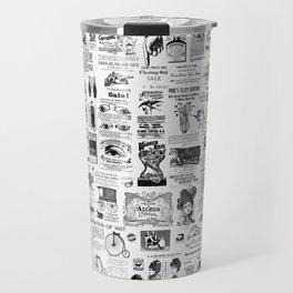 Vintage Victorian Ads Travel Mug