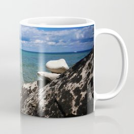 Rocks Lakeside Paradise Coffee Mug