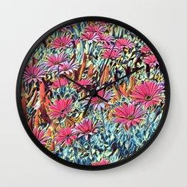 Floral Joy 3195 Wall Clock
