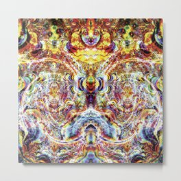 Psylent Scream (Extrovert) Metal Print