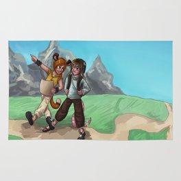 Treasure hunting time Rug