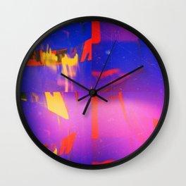 Space Debris Wall Clock