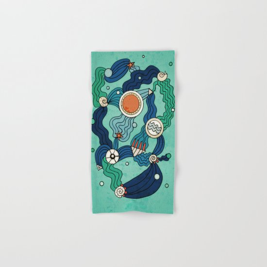 The Aquatic Environment Hand & Bath Towel