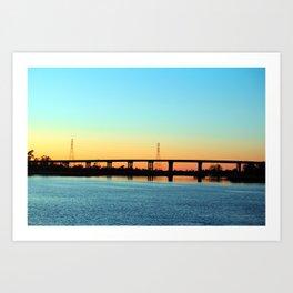 Thomas Rhodes Bridge Art Print