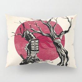 Redhead samurai Pillow Sham