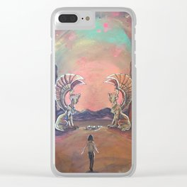 Never Ending Story: The Sphinx Gate Clear iPhone Case