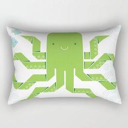 Origami Octopus Rectangular Pillow