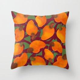 Cajufolia darker Throw Pillow