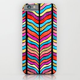 Vintage Cool and Colorful Bohemian Boho Hippie Hanging Pattern iPhone Case