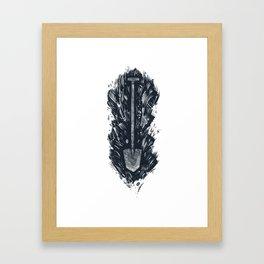 SHOVEL Framed Art Print