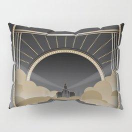 Art deco design V Pillow Sham