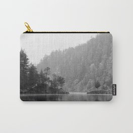 Historic Mattawa River in Black and White Carry-All Pouch