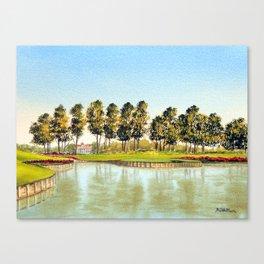 Sawgrass TPC Golf Course 17th Hole Canvas Print