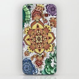 Rainbow Mandala iPhone Skin