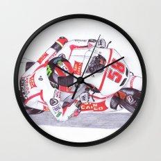 Ballpoint Pen, 58, Marco Simoncelli Wall Clock