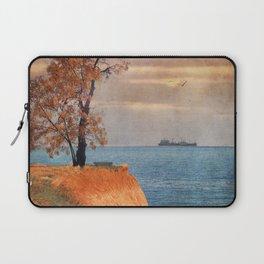 Autumn by the sea Laptop Sleeve