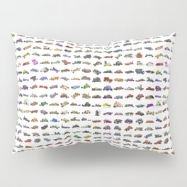 Deadly Sleds - SUPERCHARGED! Pillow Sham