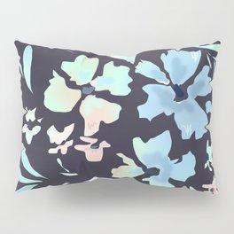 floral blues Pillow Sham
