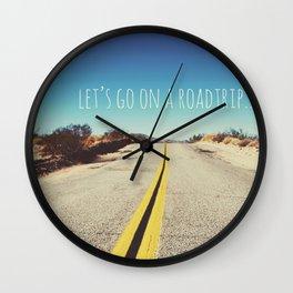Let's go on a roadtrip... Wall Clock