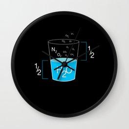 Full Glass Funny Wall Clock
