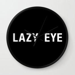 Lazy Eye (Amblyopia) Wall Clock
