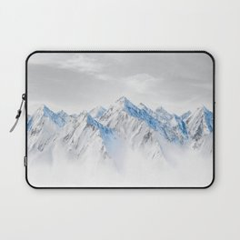 Snow Capped Mountains Laptop Sleeve