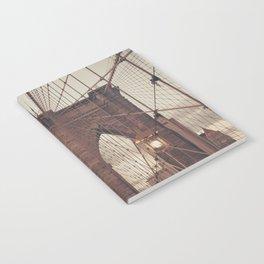 Moody Brooklyn Bridge Notebook