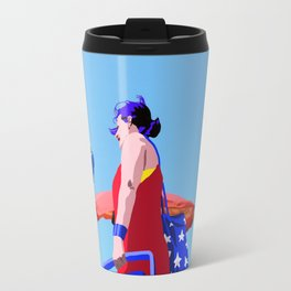 Super...on the beach Travel Mug