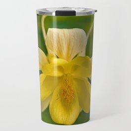 Yellow Columbine Travel Mug