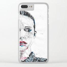 finch Clear iPhone Case