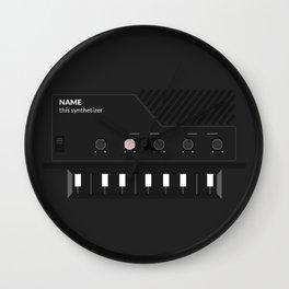 Analog Synth (Monotron) Wall Clock