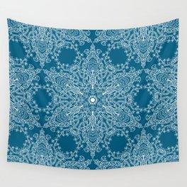 Spring Garden Mandala Wall Tapestry