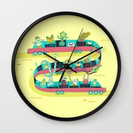 The Limo Wall Clock