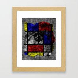 Eye of the Soul Framed Art Print