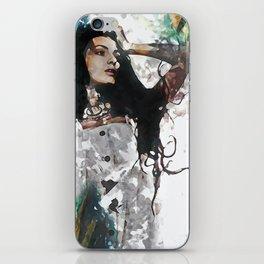 Wonder Abstract Portrait iPhone Skin