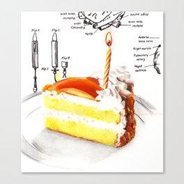 Birthday Cake Canvas Print