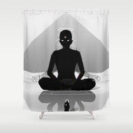 Inner Shadow Shower Curtain