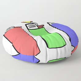 Bick Back Floor Pillow