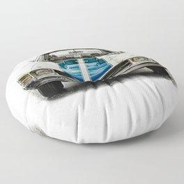 CLASSIC CAR LOVE Floor Pillow