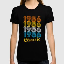 31st Birthday Gift Vintage 1986 T-Shirt for Men & Women T-Shirts and Hoodies T-shirt