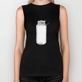 Nalgene water bottle wide mouth Art Biker Tank
