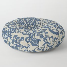 Vintage Ceramics Floor Pillow