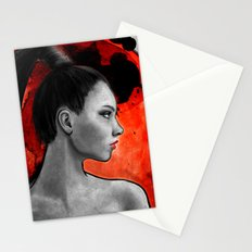 Red Warrior Stationery Cards