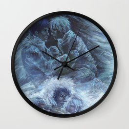 Left hand of darkness Wall Clock