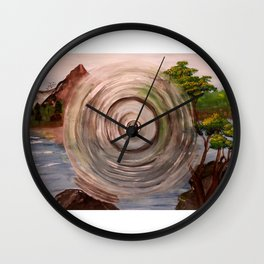 Poke Wall Clock
