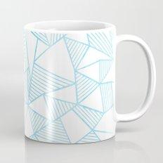 Abstraction Lines Watercolour Mug