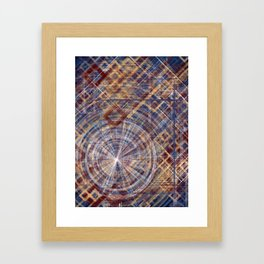 Primary Portals Framed Art Print