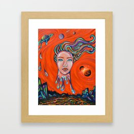 Collision Course Framed Art Print